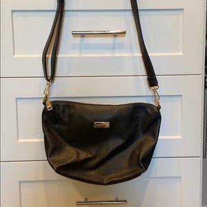 BCBG Paris Black Crossbody or Shoulder Bag